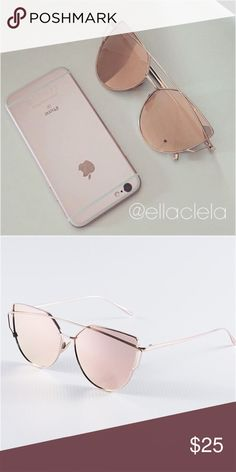 Gorgeous Pink High Quality Women Sunglasses You always see this on Instagram and Blogs. Brand new and high quality. UV Protection. No trade. Accessories Sunglasses