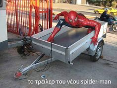 Spiderman trailer