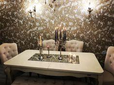 Aplik, Mum, Şamdan, Duvar kağıdı, Salon, Yemek Odası