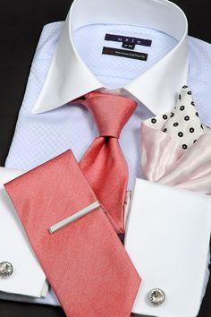 華やかなパーティースタイル・クレリックシャツ #shirtstyle #shirt coordinate #mensfashion #dress shirt #Tie #necktie #cleric shirt #メンズファッション #コーディネート #ワイシャツ #ネクタイ