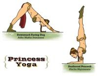 Princess Leia yoga and Yoda yoga are tied for the best.