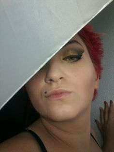 #makeup #summerfresh #followme #greeneyes #yellow #black