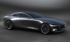 mazda unveils vision coupe concept car at 2017 tokyo motor show
