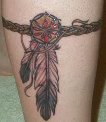 Great Dreamcatcher Tattoos For Men And Women; Native American Tattoos And Meanings