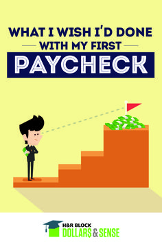 What I Wish I'd Done with my First Paycheck by Erin Lowy