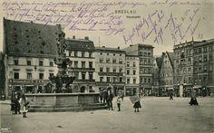 Fontanna Neptuna na placu Nowy Targ – Miejsca we Wrocławiu – Ciekawie i konkretnie o Wrocławiu.