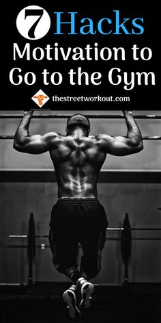 Motivation to Go to the Gym 7 Hacks! Fit Girl Motivation, Training Motivation, Fitness Motivation Quotes, Health And Fitness Tips, Fitness Plan, Men's Fitness, Muscle Fitness, Physical Fitness, Fitness Photoshoot