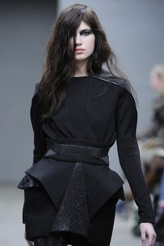 Louise Goldin Joins New York Fashion Week Schedule (pictured: Louise Goldin RTW Fall 2012)