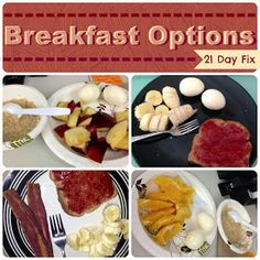 It's My Evolution: Meal Prepping and Ideas for the 21 Day Fix (21 Day Fix Recipes Meals)