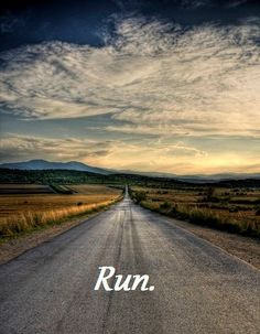 I would be more apt to run if my course looked like this :)