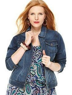 Denim jacket are back in. Yeah