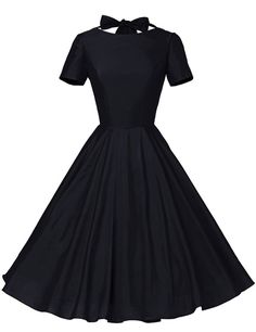 Retro swing dress. Amazon, $22.99 (available in sizes XS-XXL and seven colors).