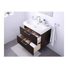 IKEA - GODMORGON / BRÅVIKEN, Waschbeckenschrank/2 Schubl., Hochglanz dunkelrot, , Inklusive 10 Jahre Garantie. Mehr darüber in der Garantiebroschüre.Die Schubladen schließen sich durch den integrierten Dämpfer langsam, sanft und geräuschlos.Die Fächergröße ist durch Versetzen der Trennstege leicht zu verändern.Voll ausziehbar für leichten Zugriff und guten Überblick über den Inhalt.Schubladen aus massivem Holz, Böden aus kratzfestem Melamin.Der beigepackte Siphon kann problemlos an Abfluss…