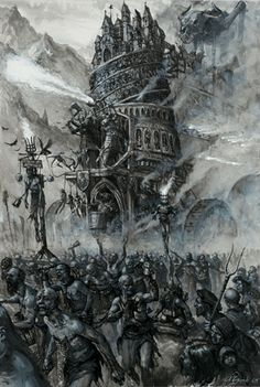 The Empire on Parade (not actual title) - Karl Kopinski