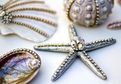 Seashell Ornaments l Beach Crafts l DIY