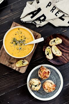 by eeva kolu Carrot Ginger Soup, Miso Soup, I Love Food, Soups And Stews, Food Styling, Gluten Free Recipes, Soup Recipes, Food Photography, Food And Drink
