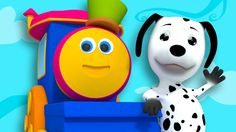 Bob, The Train - Bingo | Nursery Rhymes And Kids Songs | Children Videos...