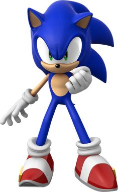 Bro Renders: Sonic by on DeviantArt Sonic The Hedgehog, Hedgehog Movie, Shadow The Hedgehog, Sonic Dash, Sonic And Amy, Sonic And Shadow, Hedgehog Birthday, Japanese Video Games, Sonic Franchise