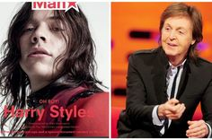 PAUL ON THE RUN: Paul McCartney interviews Harry Styles for magazin...