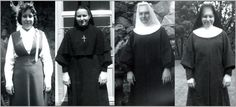 Franciscan Sister of Christian Charity, Sister Dolores Herrmann.  Pictures from High school to Profession.