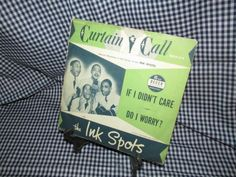 "Vintage 45 ""The Ink Spots"" by trackerjax on Etsy The Ink Spots, Curtain Call, Used Vinyl, Lps, No Worries, Singing, This Or That Questions, Handmade, Vintage"