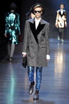 Fall 2011 Milan Fashion Week: Dolce