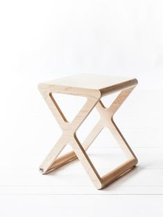 X stool Natural — Bodie and Fou - Award-winning inspiring concept store