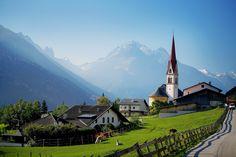 Telfes im Stubai, Kirche Hl. Pankratius (Innsbruck Land) Tirol AUT