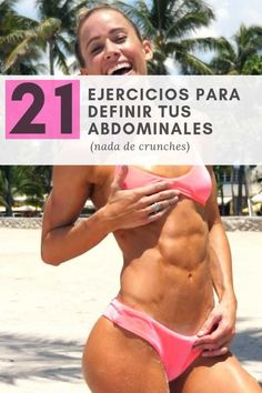 EJERCICIOS PARA DEFINIR TUS ABDOMINALES Best Abdominal Exercises, Runner Tips, Wellness, Keto Diet For Beginners, Cellulite, Weight Loss Motivation, How To Lose Weight Fast, Cardio, Health Fitness