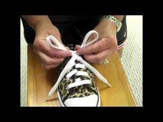 The Bunny Ear Method of Tying Shoes by Kelly Zana - YouTube