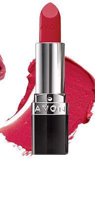 Shop Online Avon True Color Bold Lipstick - Ruby Shock Reg $8 https://www.avon.com/product/avon-true-color-bold-lipstick-57712?rep=BeautifulwithTracy #avon #makeup #cosmetics #lipstick #truecolor