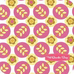 La Dee Da Rose Floradots Yardage SKU# PWEM040-ROSEX - Fat Quarter Shop
