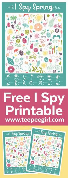 Free I Spy Spring Printable Game. This game is perfect for both older and young… Free I Spy Spring Printable Game. This game is perfect for both older and younger kids. It's challenging and fun so it will keep the kids busy and happy for a long time. Games For Kids Classroom, Toddler Activities, Preschool Activities, Babysitting Activities, Toddler Games, Wedding Games For Kids, Voyage Usa, I Spy Games, Spring Activities