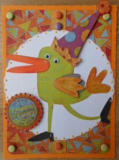 Cricut Birthday Bash - bird