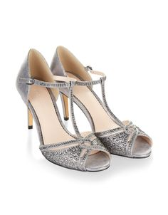 292c2a339cf Dip your toe in sophisticated sparkle thanks to our nova diamante sandals.  In a t-bar silhouette