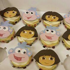 Dora cup cakes