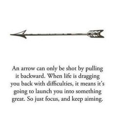 Arrow tattoo. Means so much, love it!
