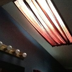 Skylight Curtain In Bathroom