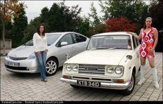 1966 Toyota Corona to the 2007 Prius 40 Years of Toyota UK - http://sickestcars.com/2013/09/02/1966-toyota-corona-to-the-2007-prius-40-years-of-toyota-uk/