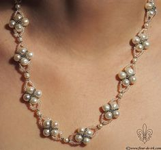 Pearl criss-cross N339 by ~Fleur-de-Irk on deviantART