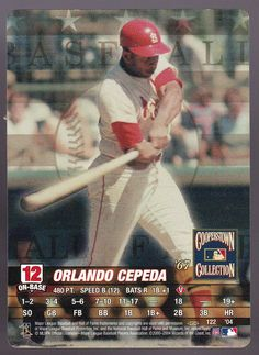 CARDINALS 2004 MLB SHOWDOWN  ORLANDO CEPEDA COOPPERSTOWN COLLECTION FREE SHIP