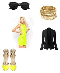 """""""Untitled #126"""" by jazzy-jazzz on Polyvore featuring ASOS, ABS by Allen Schwartz and Chicsense"""