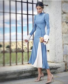 Cheap Fashion Women S Clothing Drape Dress Pattern, Special Dresses, Formal Dresses, Royal Clothing, Draped Dress, Elegant Outfit, Lovely Dresses, Contemporary Fashion, Winter Dresses