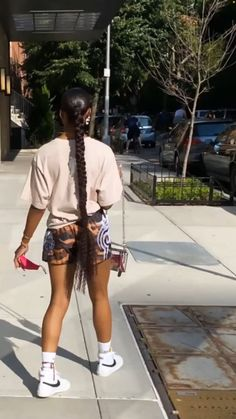 Cute Swag Outfits, Tomboy Outfits, Dope Outfits, Trendy Outfits, Summer Outfits, Girl Outfits, Fashion Outfits, Women's Fashion, Black Girl Fashion