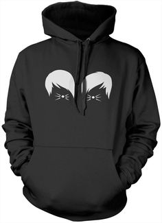 Dan and Phil Cat Whiskers Hooded Sweatshirt - Radio Vlogger Stars Youth Hoodie - Pink, Small S Dan and Phil danisnotonfire amazingphil youtuber merch