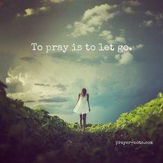 Let go today  http://ift.tt/2bNGHqu #Prayer