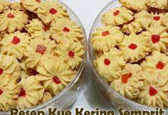 Resep Kue Semprit Baking Recipes, Dessert Recipes, Desserts, Asian Recipes, Healthy Recipes, Ethnic Recipes, Cokies Recipes, Resep Cake, Banana Ice Cream