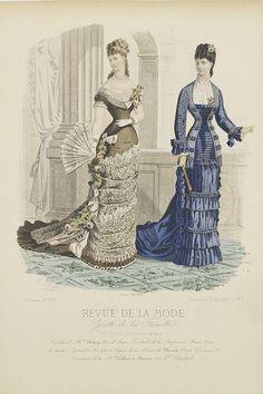 REVUE DE LA MODE -  Paris fashion plate. (297)