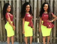 Lovely Fashion For Church In Ankara Prints  Amillionstylescom