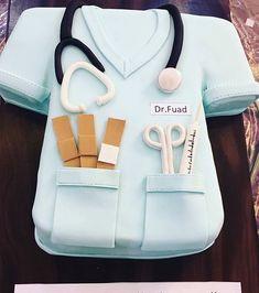 Doctor Cake Wafaa Cakes - Doha, Qatar . . . . #cakelove #cake #cakes #cakestagram #cakes #birthday #birthdaycake #fondant #fondantcakes #fondantcake #cupcakes #cupcakesdecorados #fondantart #decoratingcakes #cakedesign